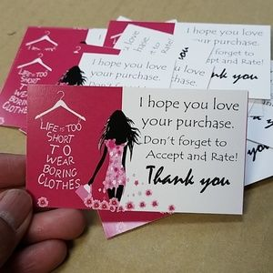 Other - Thank you note cards- Boutique